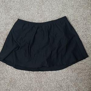 Miraclesuit Black Skirted Bikini Bottom